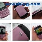 Blackberry Curve 8520, modelo rosa para la Navidad 2010