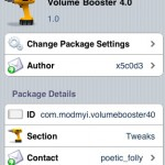 Subir volumen al iPod, iPhone e iPad con Volume Booster