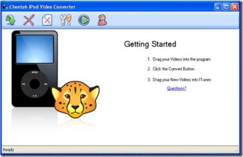 Cheetah iPod Video Converter, conversor de video para iPhone y iPod
