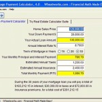 Mortage payment calculator – Calcular pagos de hipoteca