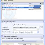 Convertir Audio con Free Mp3 Wma Converter