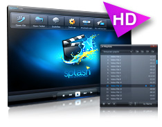 Reproducir vídeos en HD, Splash Lite
