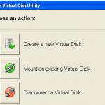 Crear y gestionar discos virtuales con Virtual Disk Utility