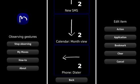 MyMoves gestos multitoque para Nokia