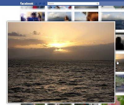 agrandar imagenes en Facebook