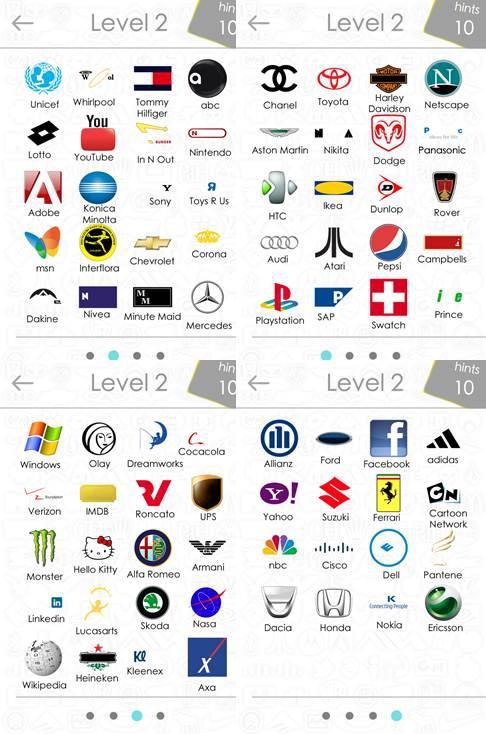 logos quiz nivel 2 respuestas
