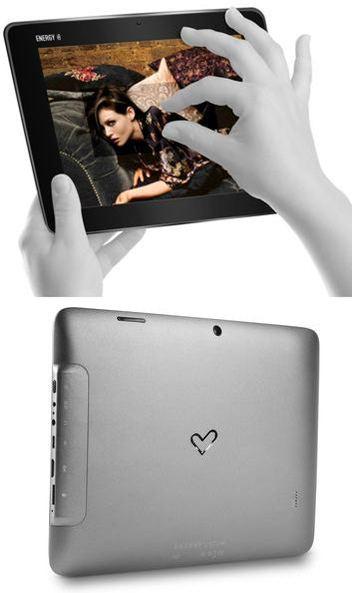 tableta android pantalla capacitiva táctil