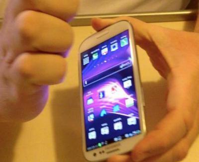 hacer captura de pantalla en celular samsung