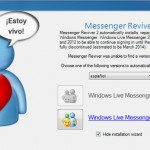¿Es posible volver a usar Windows Live Messenger? Si.
