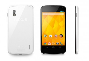 LG Nexus 4 blanco disponible a partir de mañana en Hong Kong