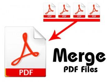 Combinar archivo pdf