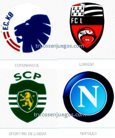 Football Logos Quiz FedApp Nivel 1-3 respuestas