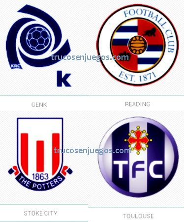 Football Logos Quiz FedApp Nivel 1-4 respuestas