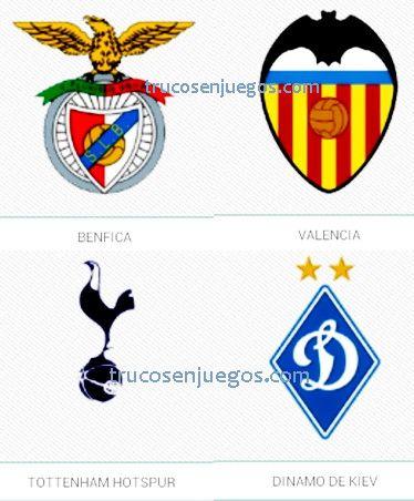 Football Logos Quiz FedApp Nivel 1-5 respuestas