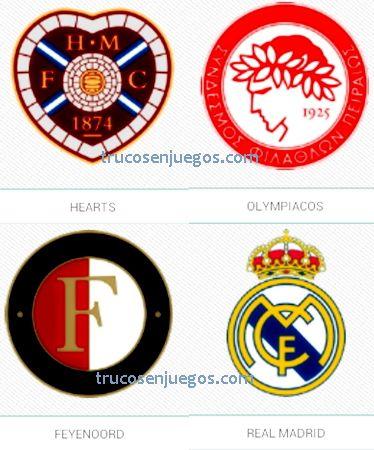 Football Logos Quiz FedApp Nivel 1 respuestas