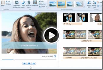 Editor de video en linea