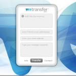 Envía archivos pesados en internet con WeTransfer