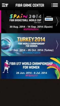 FIBA Game Center para iPhone
