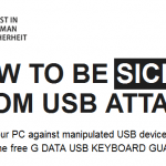 G Data USB Keyboard Guard, programa para pendrives con virus