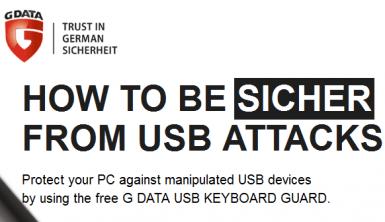 G Data USB Keyboard Guard