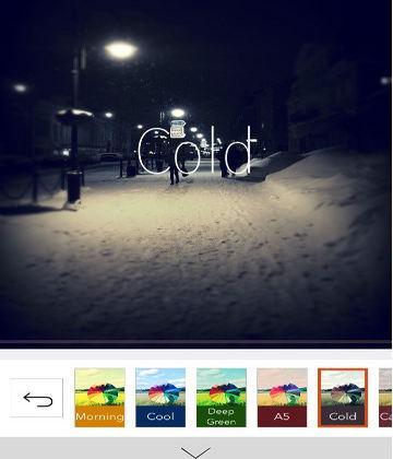 retrica-tomar y editar fotos