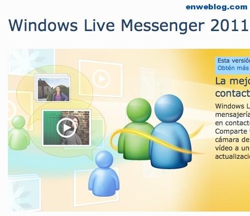 Descargar Messenger Versión 2011