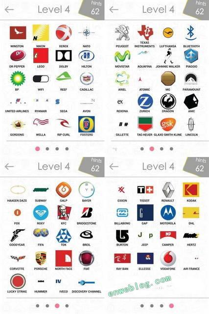 Respuestas Nivel 1 Al 8 De Logos Quiz