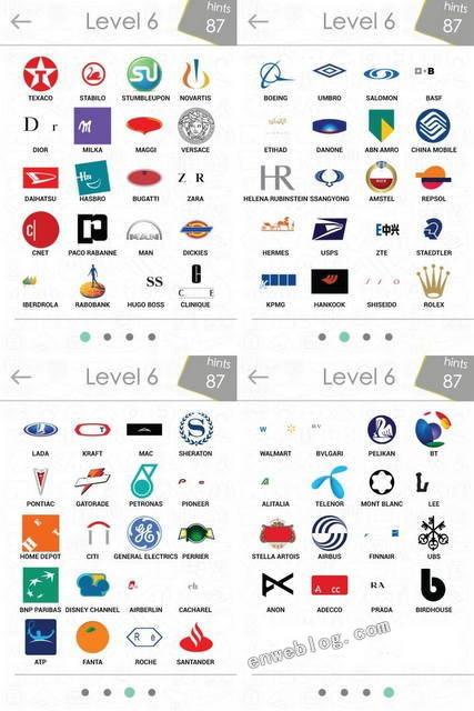 Respuestas nivel 1 al 8 de logos quiz respuestas del nivel 6 altavistaventures Gallery